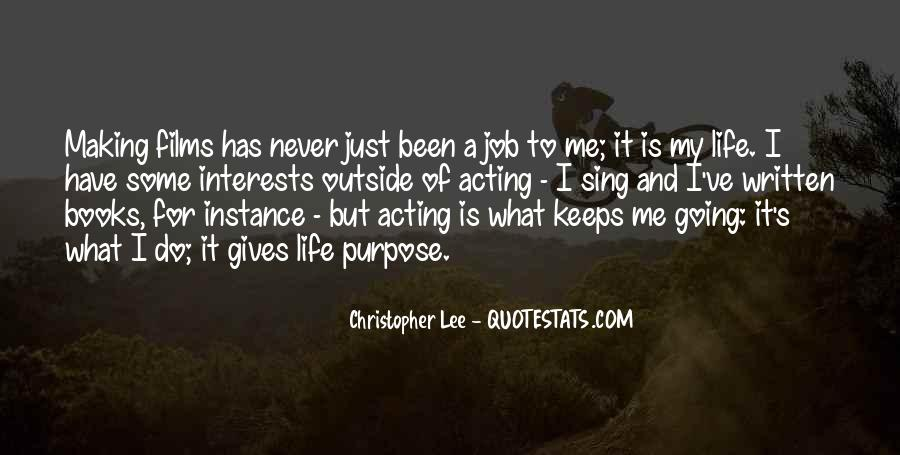 Christopher Lee Quotes #1530613