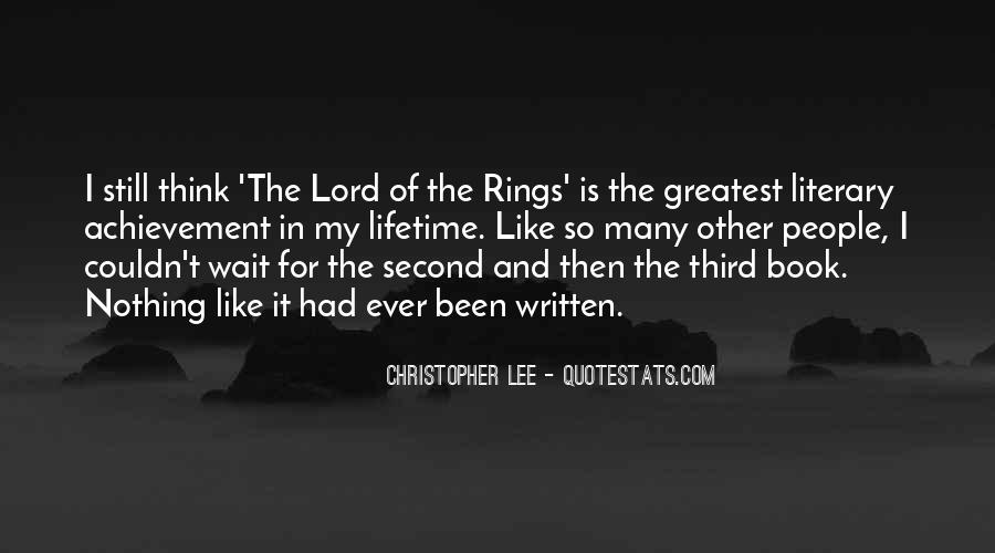 Christopher Lee Quotes #1712375