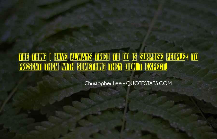 Christopher Lee Quotes #1725094