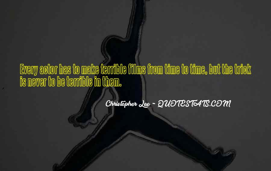 Christopher Lee Quotes #406168