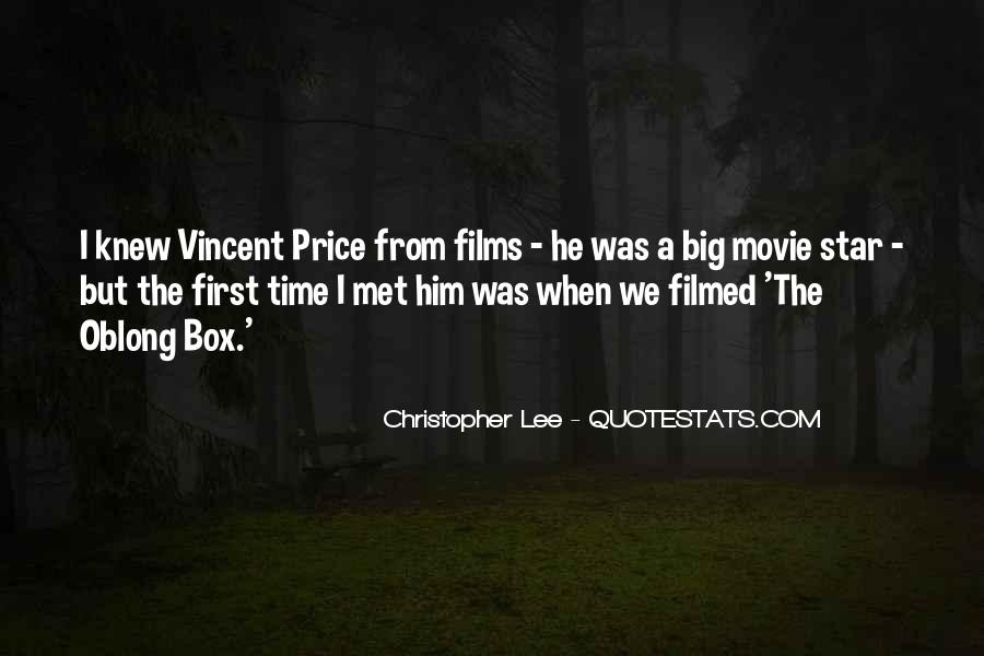 Christopher Lee Quotes #55385