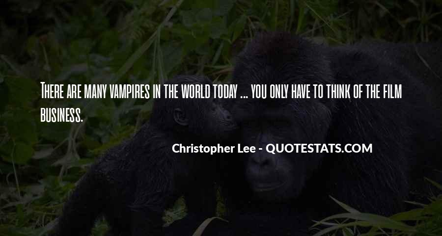 Christopher Lee Quotes #759121