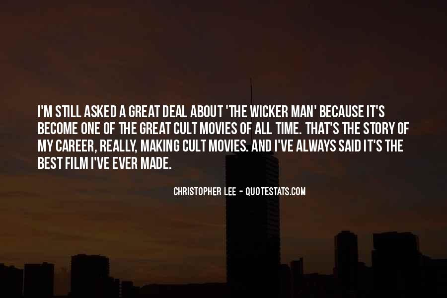 Christopher Lee Quotes #787797