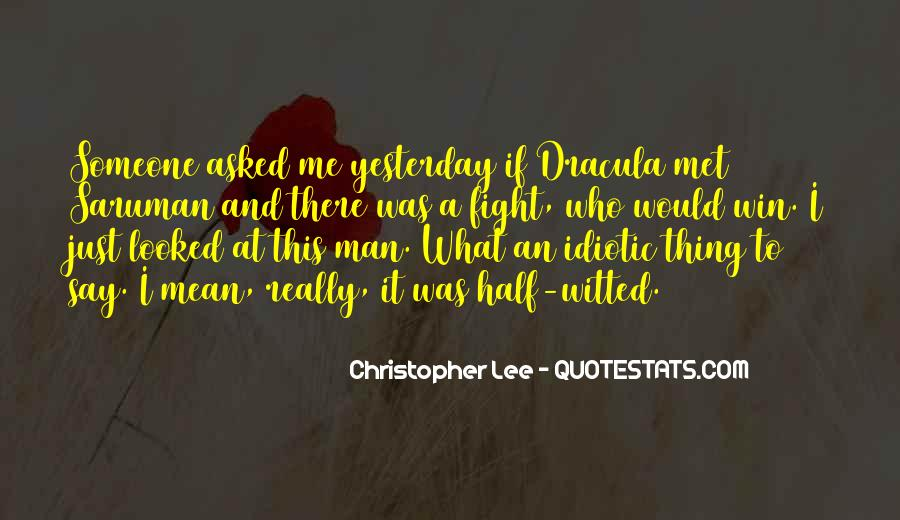 Christopher Lee Quotes #814736