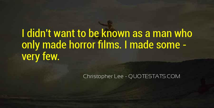 Christopher Lee Quotes #821394