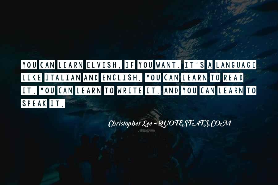 Christopher Lee Quotes #833187