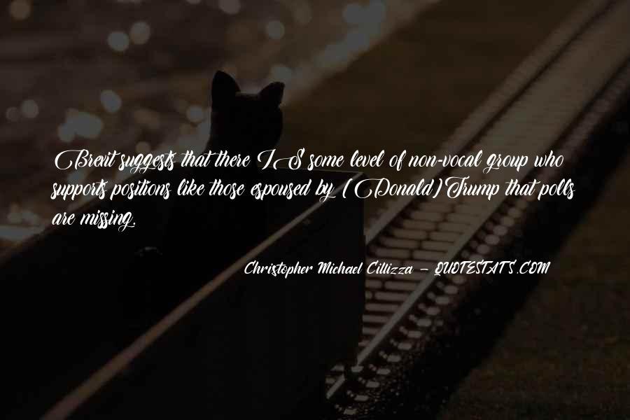 Christopher Michael Cillizza Quotes #1141084
