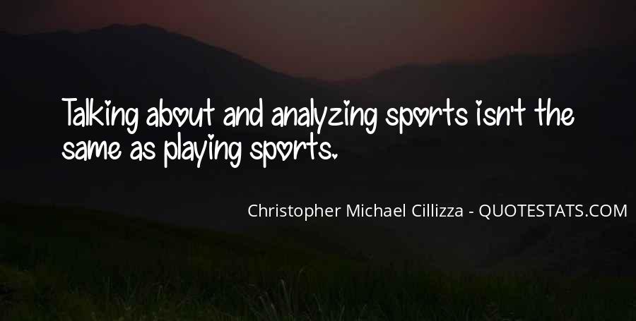 Christopher Michael Cillizza Quotes #1465714