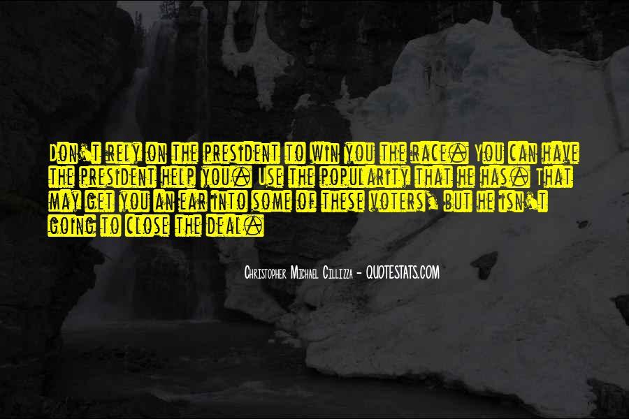 Christopher Michael Cillizza Quotes #1872465