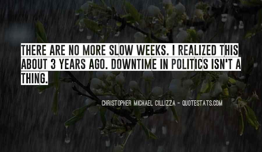 Christopher Michael Cillizza Quotes #782736