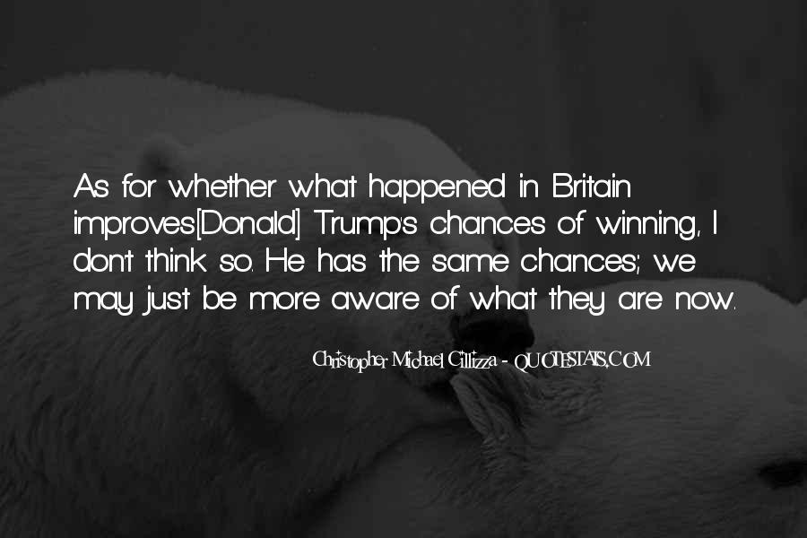 Christopher Michael Cillizza Quotes #965448