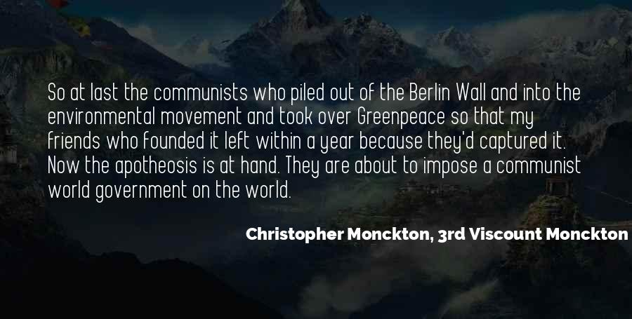 Christopher Monckton, 3rd Viscount Monckton Of Brenchley Quotes #1290597