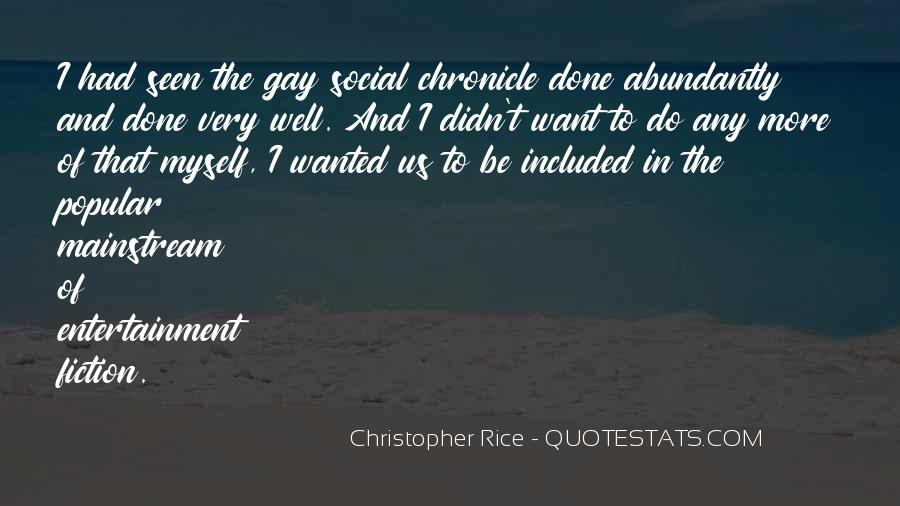 Christopher Rice Quotes #1250087