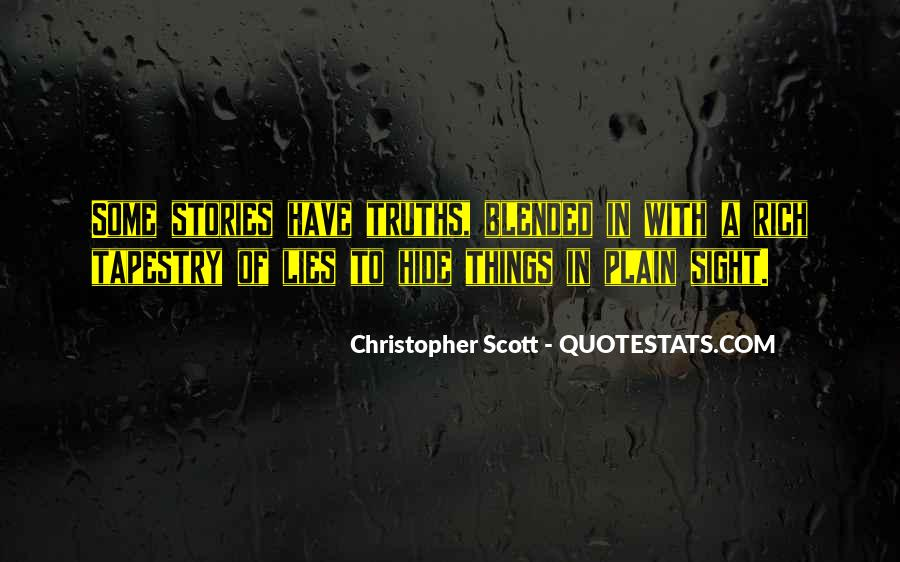 Christopher Scott Quotes #741035