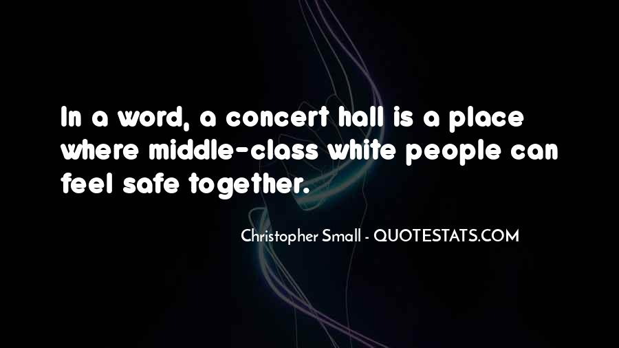 Christopher Small Quotes #210287