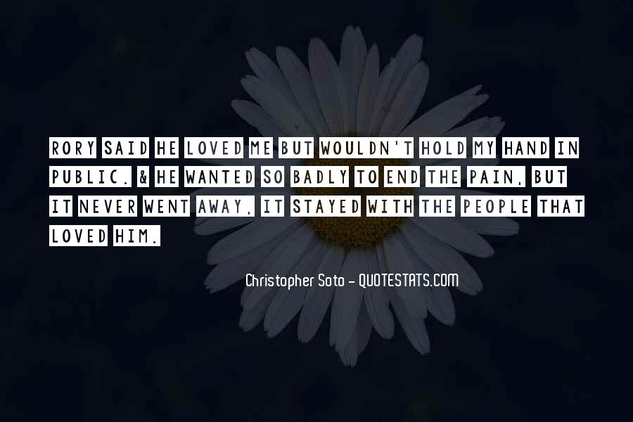 Christopher Soto Quotes #167255