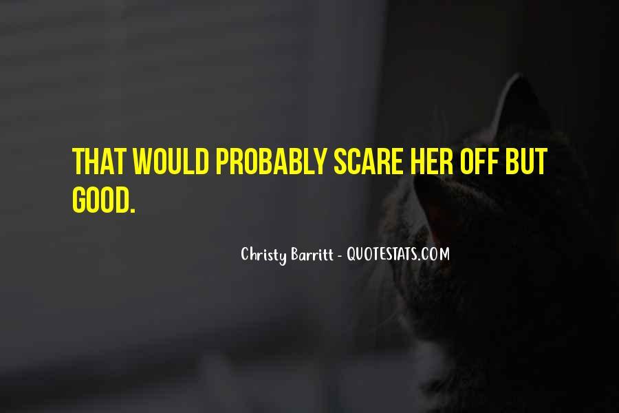 Christy Barritt Quotes #1055860