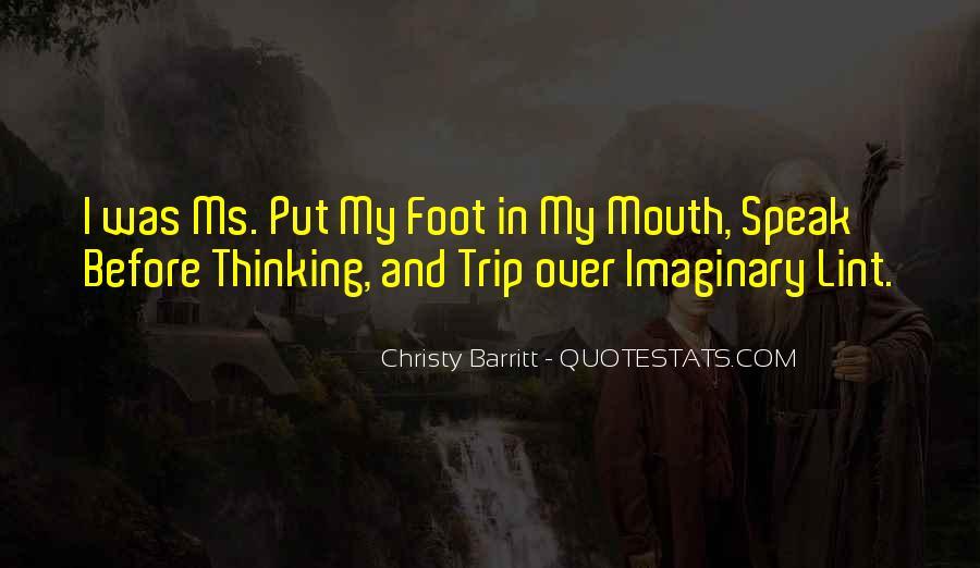 Christy Barritt Quotes #514742