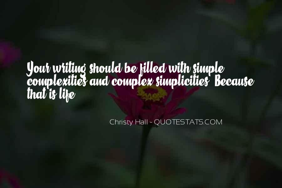 Christy Hall Quotes #11607