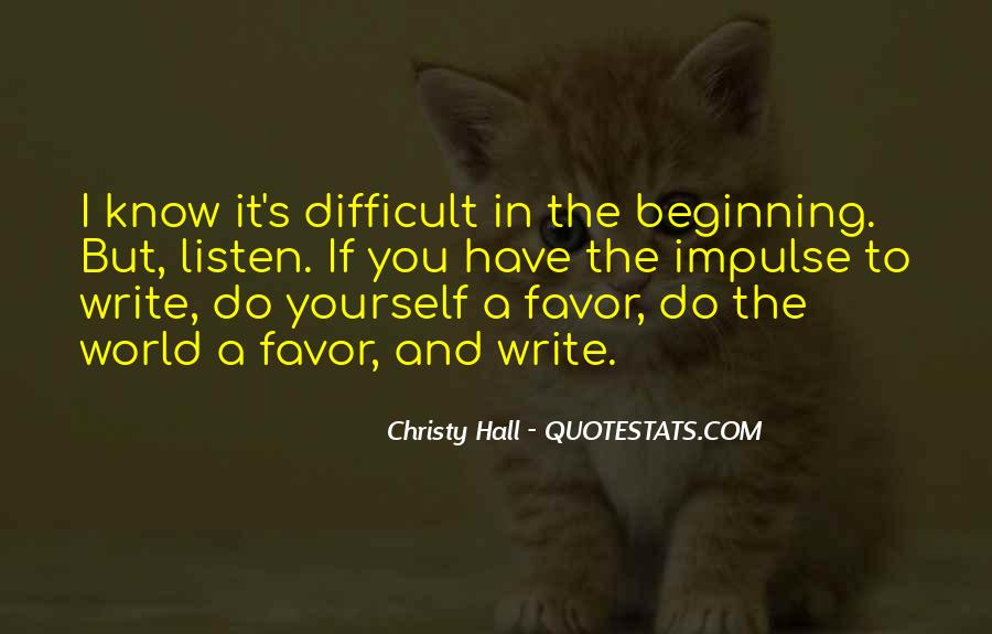 Christy Hall Quotes #1182492