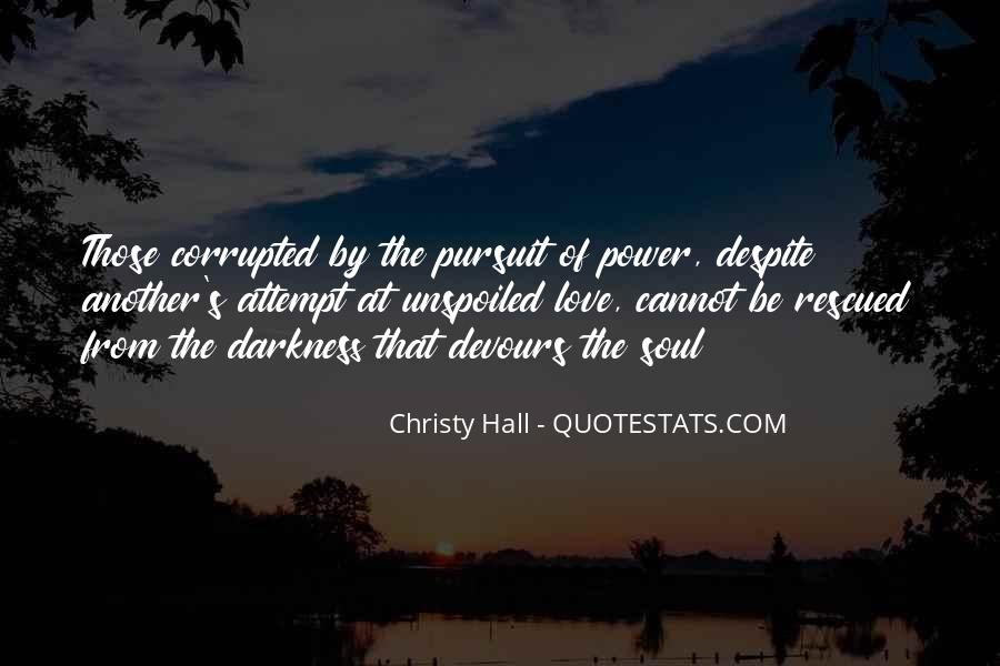 Christy Hall Quotes #1384317