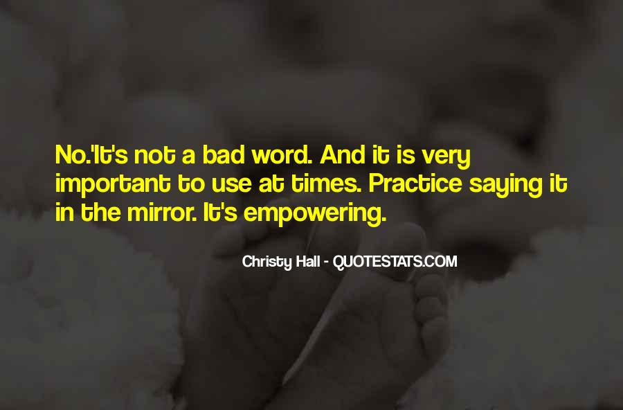 Christy Hall Quotes #150128