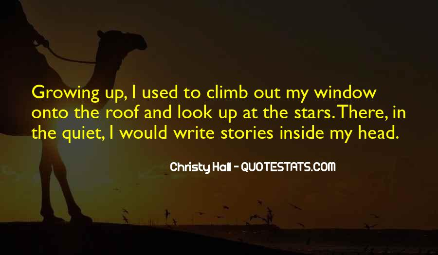 Christy Hall Quotes #166396