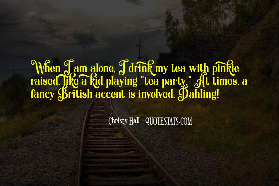 Christy Hall Quotes #1704208