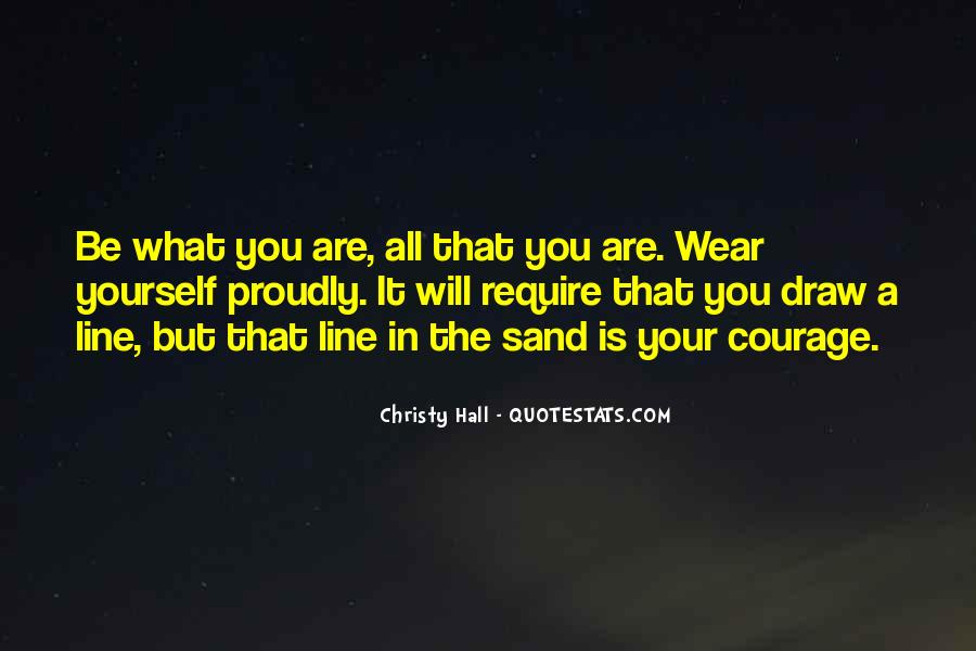 Christy Hall Quotes #1774428