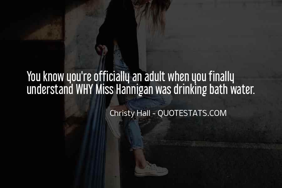 Christy Hall Quotes #703315