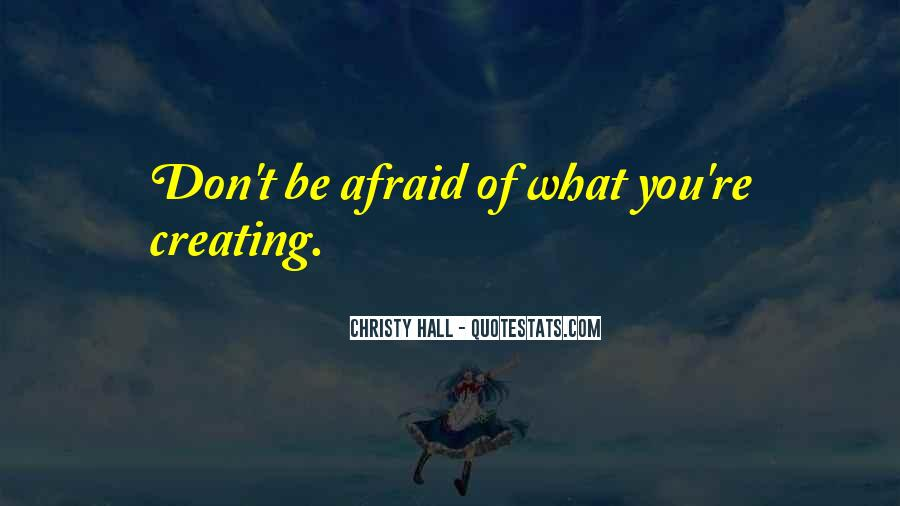 Christy Hall Quotes #994700
