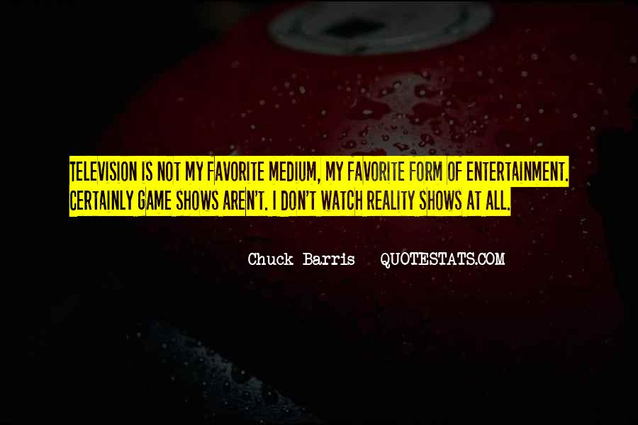 Chuck Barris Quotes #475030