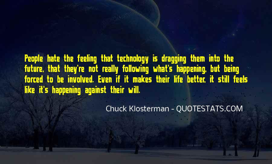 Chuck Klosterman Quotes #1084252