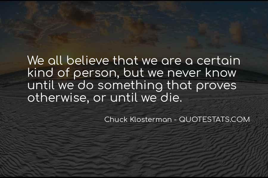 Chuck Klosterman Quotes #116791