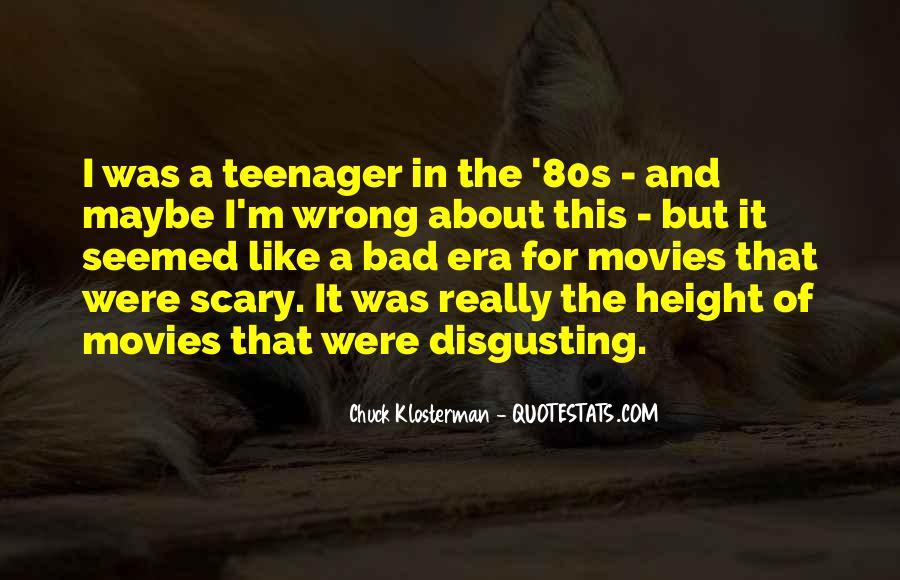 Chuck Klosterman Quotes #1310458