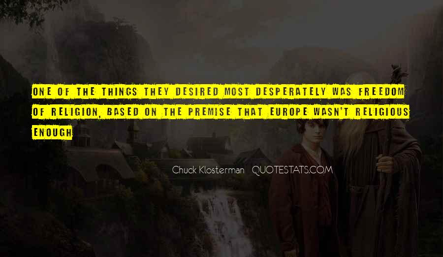 Chuck Klosterman Quotes #1318282