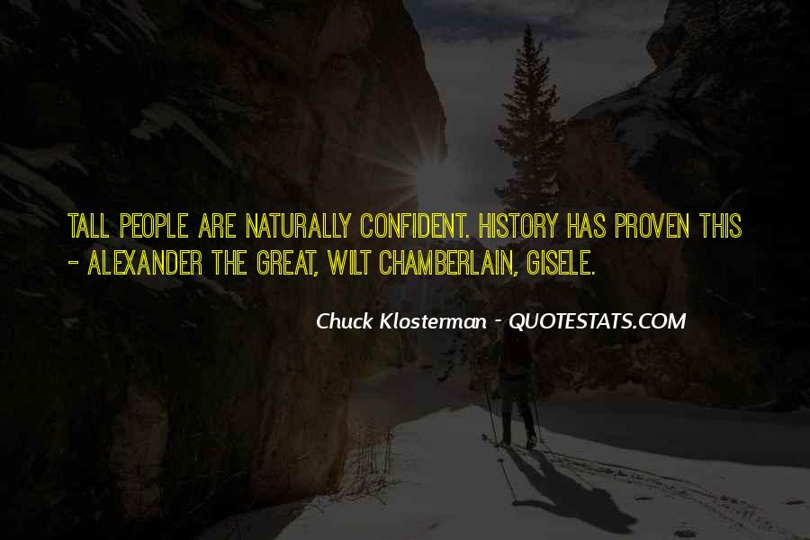 Chuck Klosterman Quotes #1330148