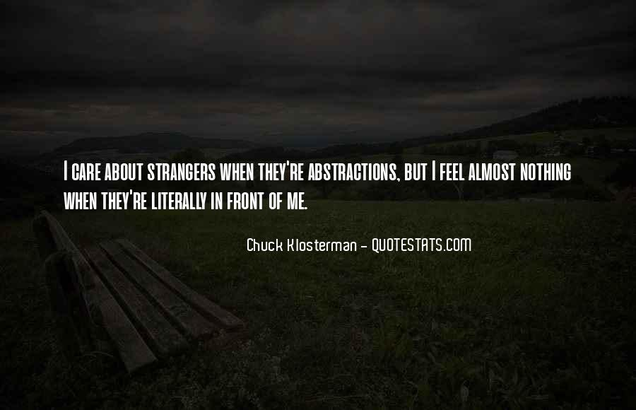 Chuck Klosterman Quotes #1359045