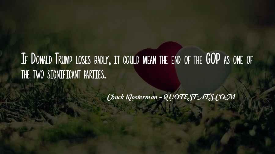 Chuck Klosterman Quotes #1404837