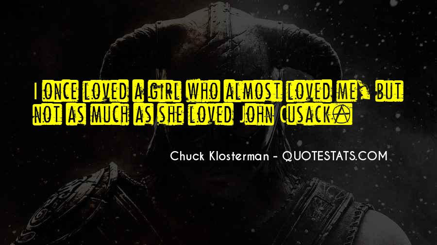 Chuck Klosterman Quotes #1520878