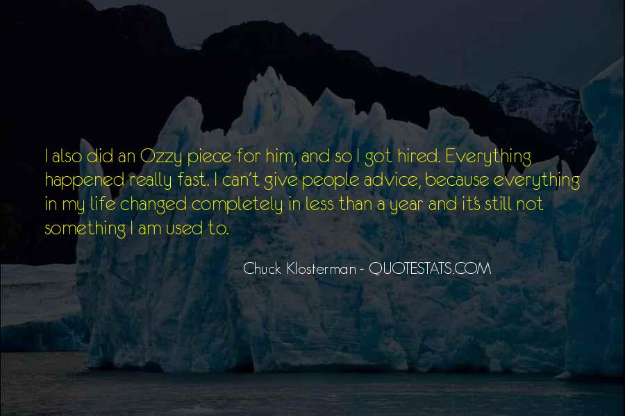 Chuck Klosterman Quotes #1687564