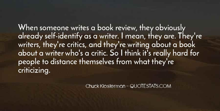 Chuck Klosterman Quotes #1740065