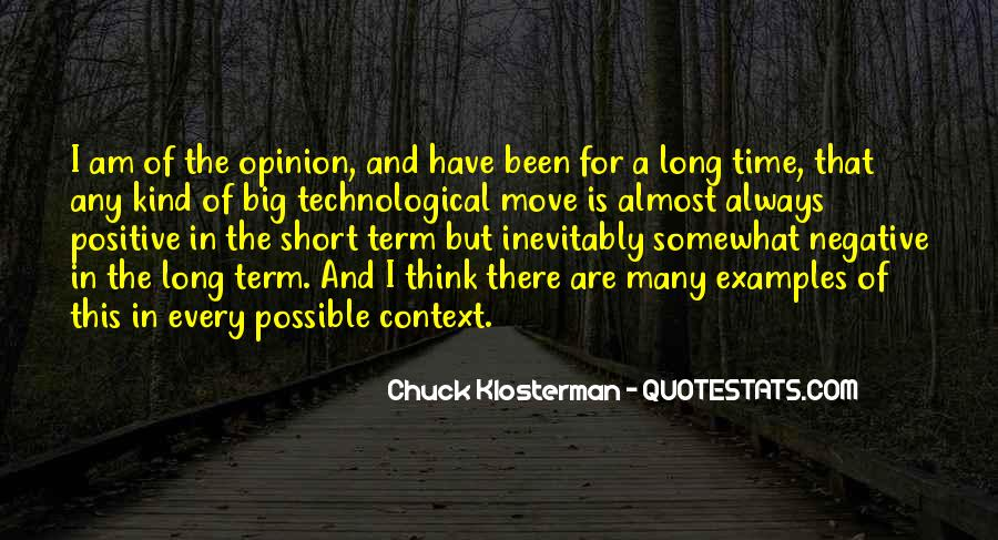 Chuck Klosterman Quotes #219930