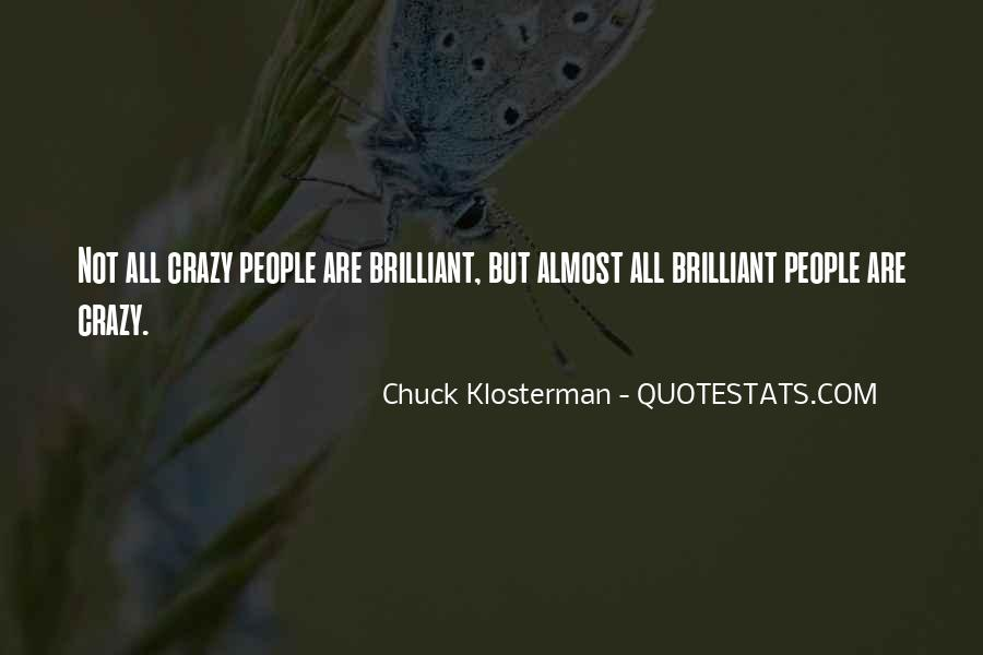 Chuck Klosterman Quotes #268923