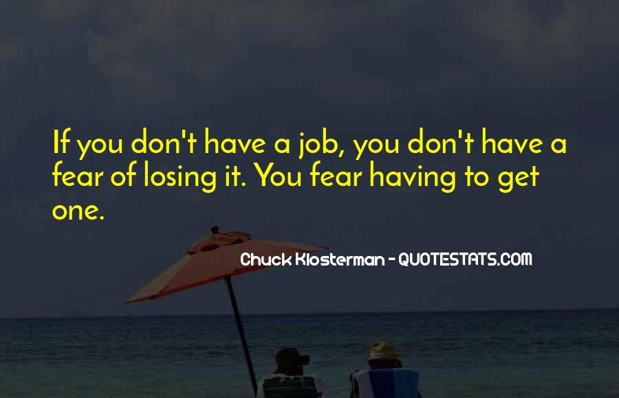 Chuck Klosterman Quotes #317650