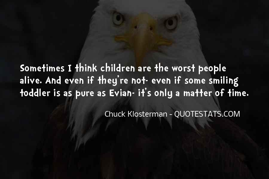 Chuck Klosterman Quotes #319195