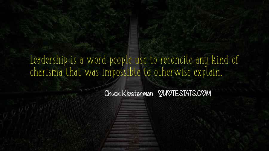 Chuck Klosterman Quotes #380696