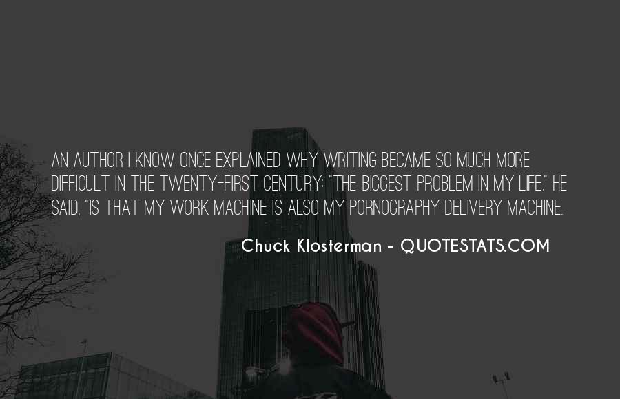 Chuck Klosterman Quotes #421311