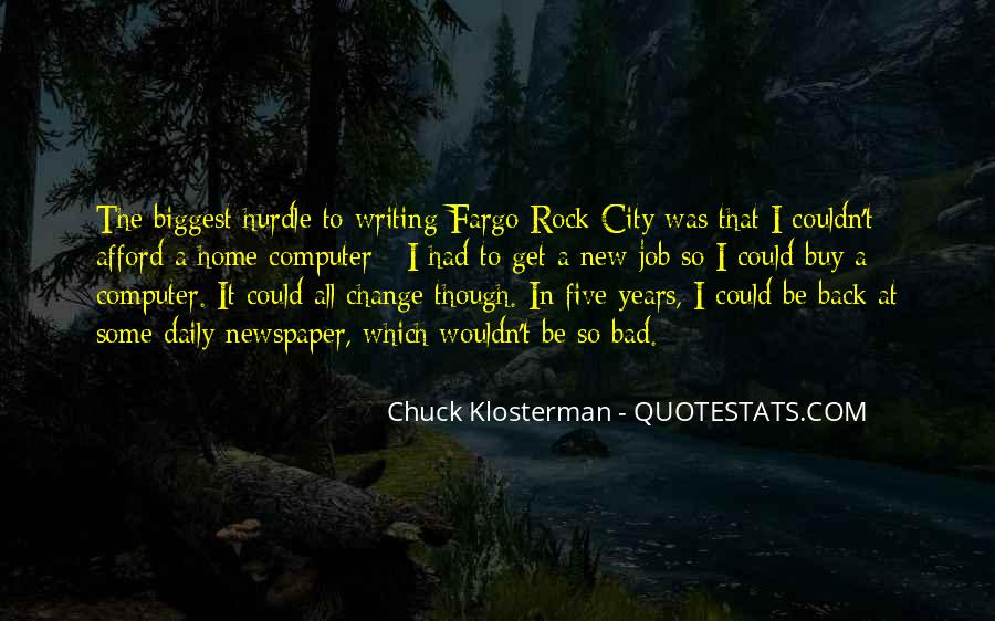 Chuck Klosterman Quotes #466626