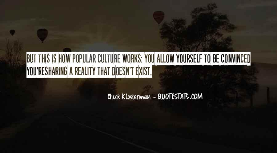 Chuck Klosterman Quotes #537947